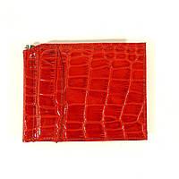 Зажим для купюр кожаный красный Сanpellini 070, фото 1