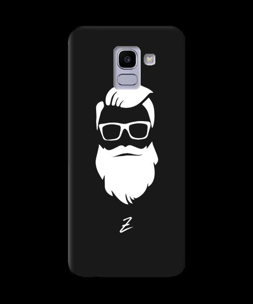 Чехол для телефона Zorrov на  Samsung Galaxy J6 2018 Beard Black Matte