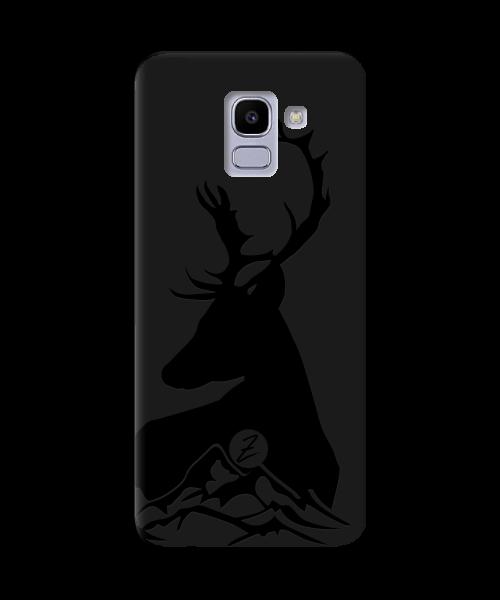 Чехол для телефона Zorrov на  Samsung Galaxy J6 2018 Moral Black Matte