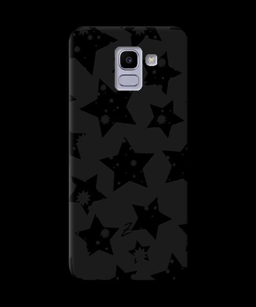 Чехол для телефона Zorrov на  Samsung Galaxy J6 2018 Black Star Black Matte