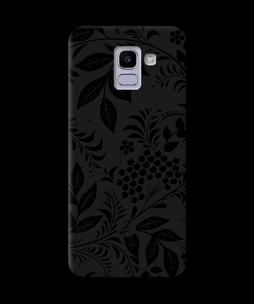 Чехол для телефона Zorrov на  Samsung Galaxy J6 2018 Art Black Matte
