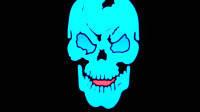 Оригинальный Универсальный Флуоресцентный Череп Glow in The Dark для Тематической вечеринки Маскарад