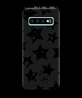 Чехол для телефона Zorrov на  Samsung Galaxy S10 Plus Black Star Black Matte