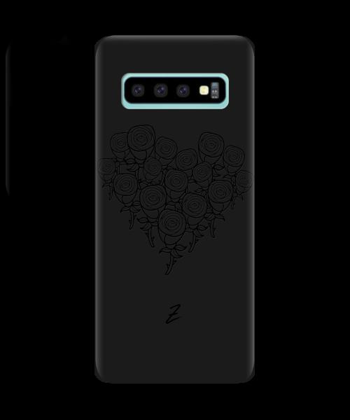 Чехол для телефона Zorrov на  Samsung Galaxy S10 Plus Love Black Matte