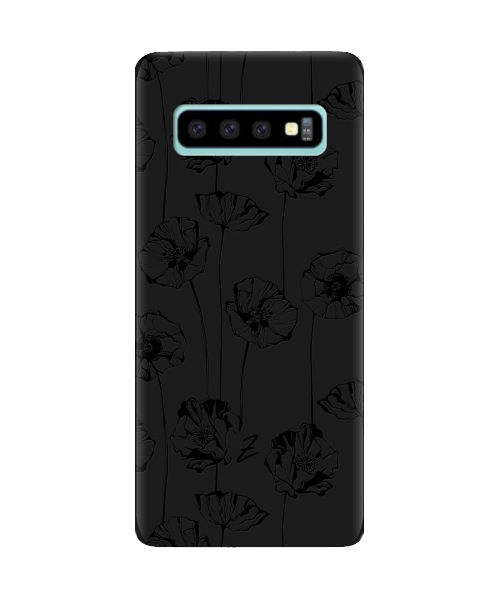 Чехол для телефона Zorrov на  Samsung Galaxy S10 Plus Mallow Black Matte