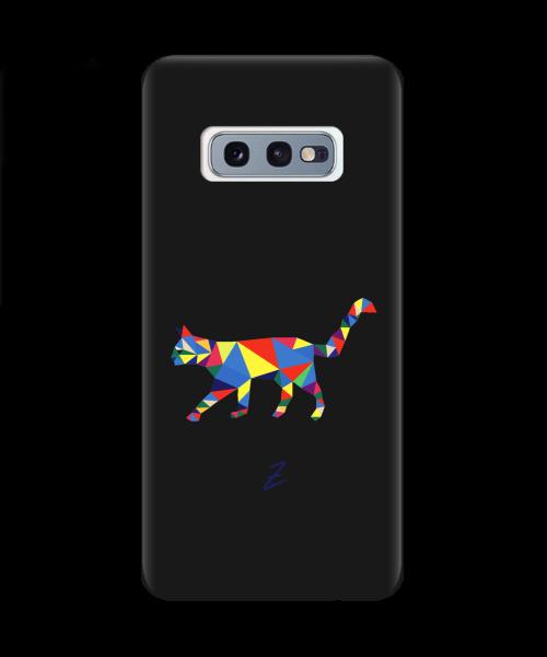 Чехол для телефона Zorrov на  Samsung Galaxy S10e Cat Black Matte