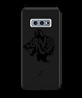 Чехол для телефона Zorrov на  Samsung Galaxy S10e Born Wild Black Matte