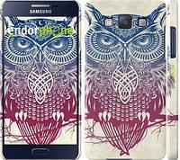 "Чехол на Samsung Galaxy A5 A500H Сова 2 ""2726c-73"""