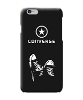 Чехол для телефона Zorrov на  Apple Iphone 6 Plus/6S Plus Converse Black Matte
