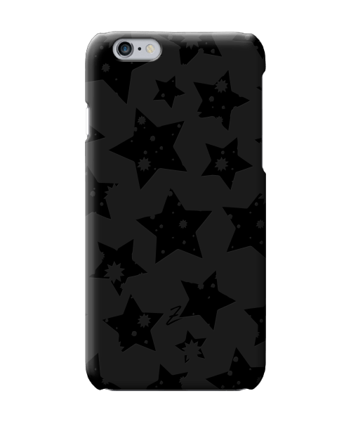 Чехол для телефона Zorrov на  Apple Iphone 6 Plus/6S Plus Black Star Black Matte