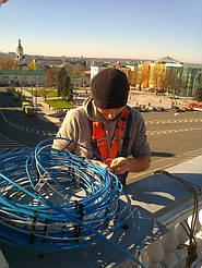 Монтаж систем антиобледенения и снеготаяния в г. Харькове