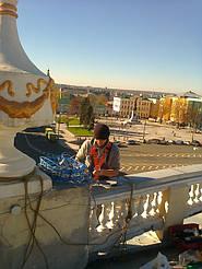 """Монтаж систем антиобледенения и снеготаяния для учреждений -""""ОЩАДБАНКА"""" и """"Сбербанка России"""""""