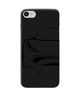 Чехол для телефона Zorrov на  Apple Iphone 8 Sport Car Black Matte