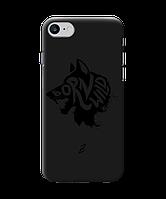 Чехол для телефона Zorrov на  Apple Iphone 8 Born Wild Black Matte