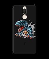 Чехол для телефона Zorrov на  Huawei Mate 10 Lite Rex Black Matte