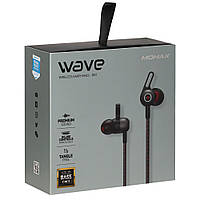 Bluetooth наушники Momax Wave BE2D Bluetooth Headset — MultiColor