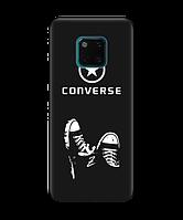 Чехол для телефона Zorrov на  Huawei Mate 20 Pro Converse Black Matte