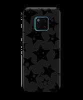 Чехол для телефона Zorrov на  Huawei Mate 20 Pro Black Star Black Matte
