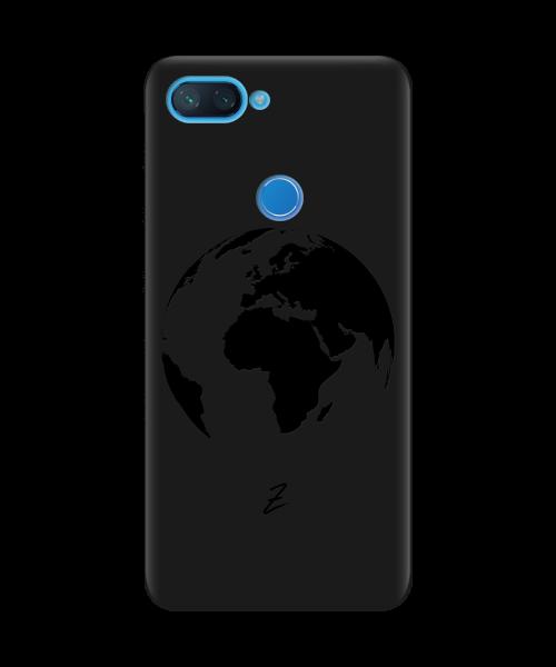 Чехол для телефона Zorrov на  Xiaomi Mi 8 Lite Planet Black