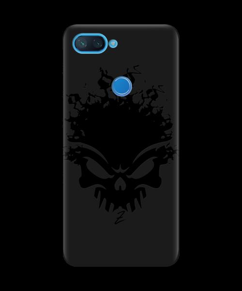 Чехол для телефона Zorrov на  Xiaomi Mi 8 Lite Ugolek Black Matte