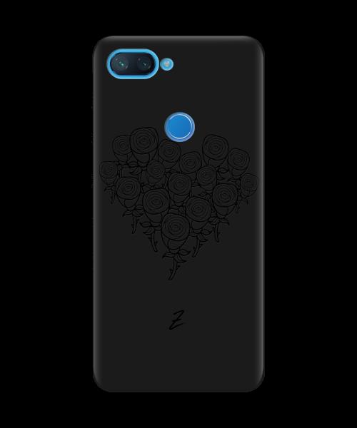 Чехол для телефона Zorrov на  Xiaomi Mi 8 Lite Love Black Matte
