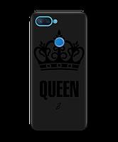 Чехол для телефона Zorrov на  Xiaomi Mi 8 Lite Queen Black Matte