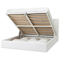 IKEA GVARV Кровать с ящиком для хранения, Идхулт белый (604.097.22)