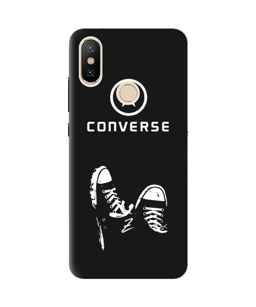 Чехол для телефона Zorrov на  Xiaomi Mi A2 Lite Converse Black Matte