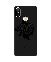 Чехол для телефона Zorrov на  Xiaomi Mi A2 Lite Born Wild Black Matte