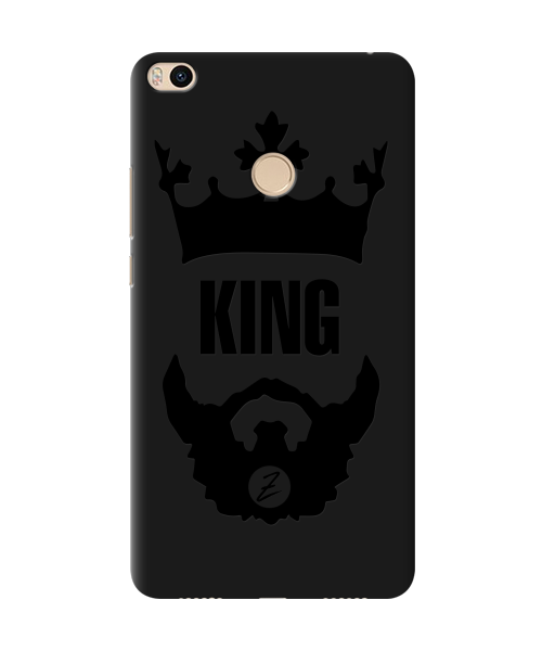 Чехол для телефона Zorrov на  Xiaomi Mi Max 2 King Black Matte