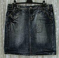 Юбка женская модная джинс миди бренд Esisto р.48, фото 1