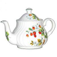 Чайник фарфоровый Англия «Земляника» David Michael,750 мл (707-0311)