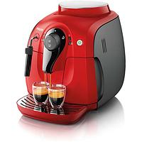 Кофемашина Philips Xsmall HD8651/29 Red Black 2000 Series, фото 1