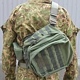 Тактична сумка Combat плечова, фото 2