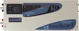 Инвертор Powerplant Комбинированый инвертор Sumry PSW7 1012 1000W 12V 230V 50HZ с функцией заряда аккумулятора NV820023