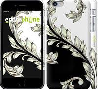 "Чехол на iPhone 6 Plus White and black 1 ""2805c-48"""