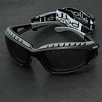 Очки защитные Bolle Tracker с дымчатыми линзами, (TRACPSF)