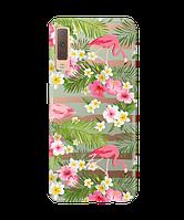 Чехол для телефона Zorrov на  Samsung Galaxy A7 2018 Flamenco