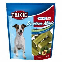 Trixie Denta Fun Dentros Mini лакомство для гигиены полости рта собак с авокадо 10шт, 140г