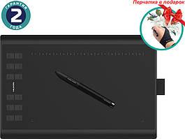 Графический планшет Huion Графический планшет Huion New 1060Plus + перчатка SKU_1060PLUS