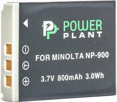 Аккумулятор для фототехники Powerplant Аккумулятор PowerPlant Minolta NP-900, Li-80B 800mAh SKU_DV00DV1070