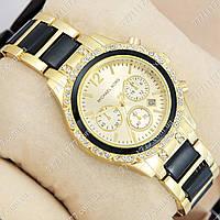 Часы женские наручные Майкл Корс crystal Gold-black/Gold