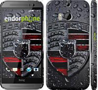 "Чехол на HTC One M8 dual sim Porsche 2 ""978c-55"""