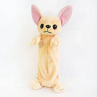 Мягкая игрушка Золушка Мягкая игрушка Zolushka Пенал Собака Чихуахуа 26см (265) SKU_265