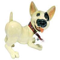 Фигурка-статуэтка собачка английский бультерьер «Билли» коллекционная из керамики Англия, h-12 см 340-1051