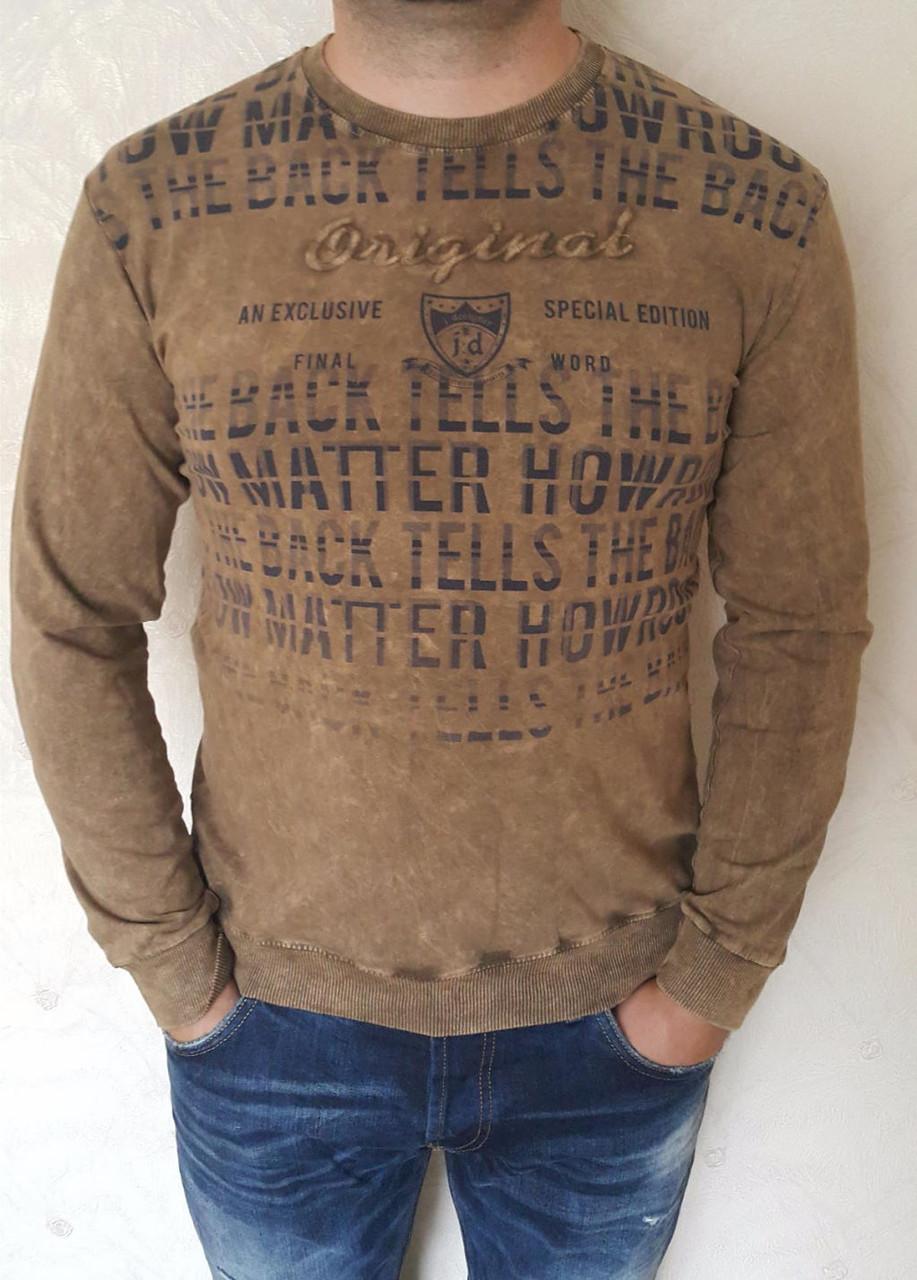 404752b9d59d4 Оригинальный мужской свитер с круглым вырезом под горло - Оптово -  розничный магазин одежды