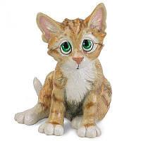 Фигурка-статуэтка кошка «Мими» коллекционная из керамики Англия, h-18 см 340-1018