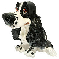 Фигурка-статуэтка собачка «Джазз» коллекционная из керамики Англия, h-16,5 см 340-1040