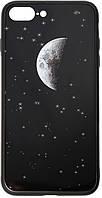 Чехол TOTO Чехол-накладка TOTO Cartoon Print Glass Case Apple iPhone 7 Plus/8 Plus Starry Sky SKU_F_92972