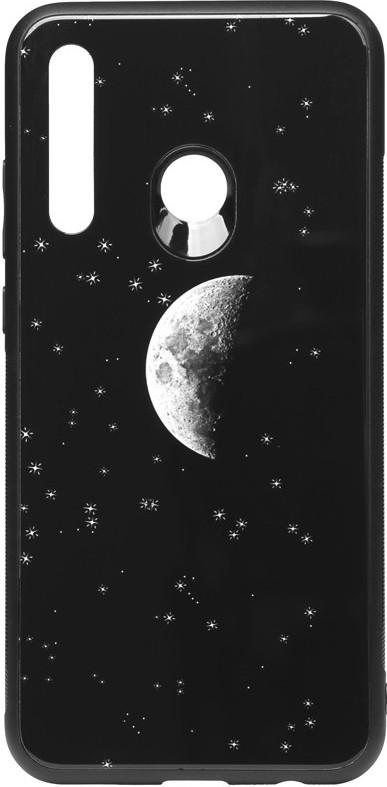 Чехол TOTO Чехол-накладка TOTO Cartoon Print Glass Case Huawei P Smart+ 2019 Starry Sky SKU_F_92980